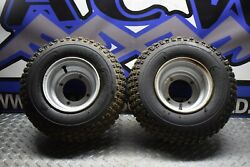 Ff5 Two Wheels Rims Tires 16x8-7 05 Arctic Cat 50 Youth Ds Atv 2x4 Free Ship