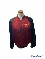Puscifer Tool Red And Black Embroidered Tour Band Jacket Size Medium