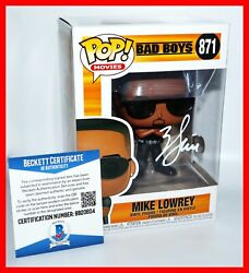 🔥 Rare Will Smith Signed Autographed Bad Boys Mike Lowrey Funko Pop Beckett Psa
