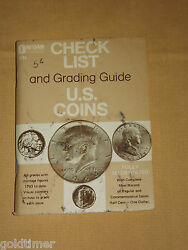 Vintage 1973 Dafran House Check List And Grading Guide Us Coins Book