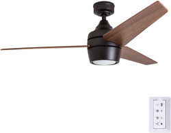 Honeywell Ceiling Fans 50603 Eamon Modern Ceiling Fan With Remote Control 52andrdquo