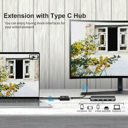 Usb C 1 In 2 Out Two-way Switcher Type C Video Data Transfer Switch 2 In 1 Out