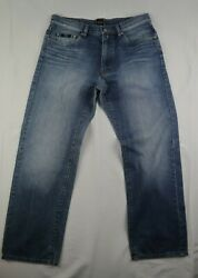 Hugo Boss Texas Jeans Blue 32w 30l Straight Leg Menand039s Great Condition