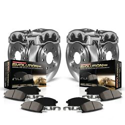 Power Stop Kcoe6537 Stock Replacement Brake Kit With Calipers Stock Replacement