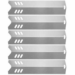 Hisencn 15 Stainless Steel Bbq Gas Grill Heat Plate Shield Tent Replacement