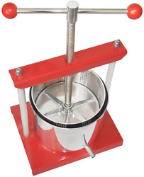 Squeeze Master Cheese Tincture Herb Fruit Wine Manual Press -1.6gallon/ 6 Litre-