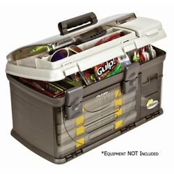 Plano Fishing Guide Series Five Utility Pro System Tackle Box Graphite Freeship