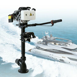 Boat Engine 4.0hp 4-stroke Outboard Motor Heavy Duty Cdi Air Cooling System 55cc
