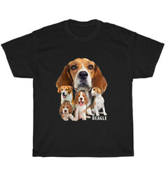 I Love My Beagles T Shirt Dog Themed Funny Beagle Puppy Lover Unisex Tee Gift