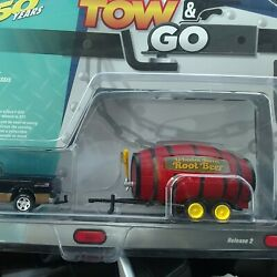 Johnny Lightning Tow And Go Root Beer Barrel Limited 1 Of 4000 Gltt002 Die Cast