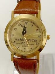 73 Great Polo Sports Club Menand039s Watches Wristwatch F/s From Jp