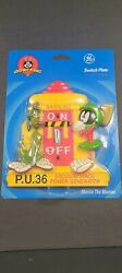 Andnbsplooney Tunes Marvin The Martian Light Switch Plate New Vintage General Electric