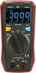 Triplett Mm200 Compact 4000 Count Multimeter With Certificate Of Calibration ...