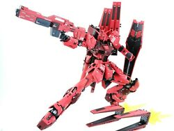 Bandai Rg Built And Painted ν Gundam Char Aznable Color(finished Product