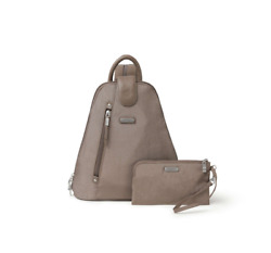 Metro Backpack With Rfid Phone Wristlet_new Tags_sale Off 50 Portobello Shimmer