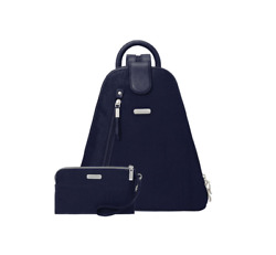 Metro Backpack With Rfid Phone Wristlet_new Tags_sale 50 Navy