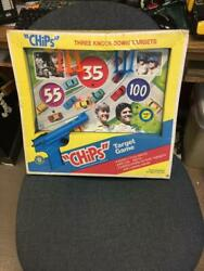 1976 Placo Toys Chips Tv Show Target Game Still Factory Sealed
