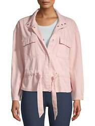Time And Tru Womenand039s Cinched Utility Jacket
