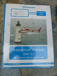 Aerospatiale Twin Star As 355 Helicopter Instruction Manual 1986
