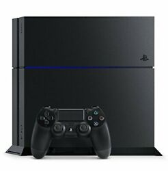 Playstation 4 Jet Black Cuh1200ab01 Manufacturer Discontinued Used Good Pro