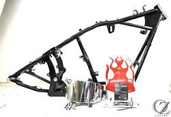 2000 00 Ultra Motorcycle Softail Chopper Main Frame Chassis Builders Kit Slv T