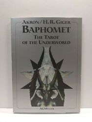 Baphomet The Tarot Of The Underworld 1993, 1st Ed H.r. Giger Akron Card Set