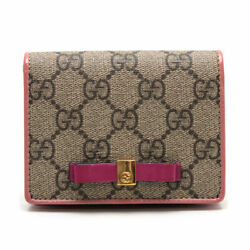 Card Case Business 406924 493075 Made In Italy Bi-fold Wallet Gg Pattern