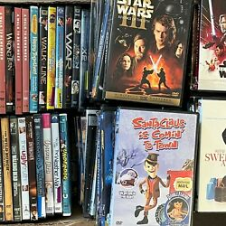 DVD Lot Pick and Choose TV Action Comedy Drama Horror Kids Western Flat Shipping