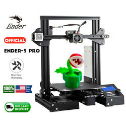 Us Stock Creality Ender 3 Pro 3d Printer Magnetic Hot Bed Sticker 220x220x250mm