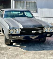 1970 Chevrolet Chevelle 1970 Chevelle Ss 454 Big Block / 4 Speed Project Car