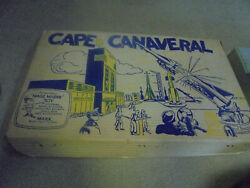 Vintage Early 1960's Marx Cape Canaveral Playset Play Set