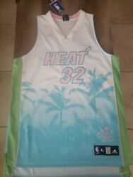 Shaquille O'neal Rare Jersey | Rare Miami Heat Collector Jersey | Xl Adidas