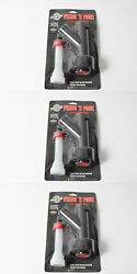 3 Pack Genuine Garage Boss Gb410 Press N Pour Spout For All Garage Boss Cans