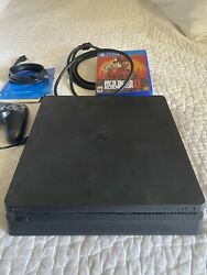 Ps4 Console 1tb, Controller And Red Dead Redemption 2