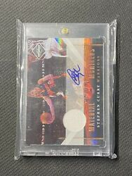 2010-11 Stephen Curry Limited Jersey Auto /99 Material Monikers 46
