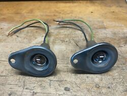 Vintage Ford 60s 70's Under Dash Lamp Lights Car Accessory Mustang Thunder Bird