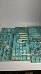 Vintage Used And New Pocket Watch Movement Plates And Parts Etc. Lot