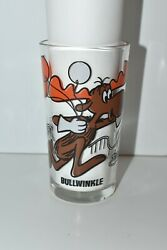 Vintage Pepsi Bullwinkle Collector Glass
