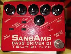 Discontinued Finished Product Sansamp Bass Driver Di Effector Sands Amp Tech21