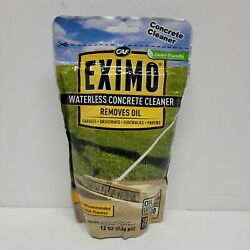 Eximo Waterless Concrete Cleaner 0.7 Lbs For Driveway Garage Basement 12 Oz B6