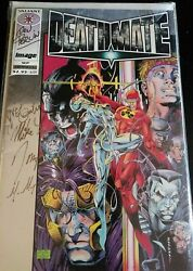 Deathmate Prologue Comic Signed. By Don Perlin And Others