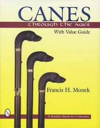 Antique Canes And Walking Sticks Reference W Gadgets, Carved, Id Marks And 1200 Pics