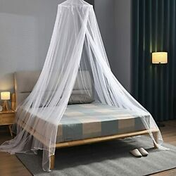 Njn Bed Canopy Mosquito Net, Hanging Bed Canopy Netting For Single To King Size