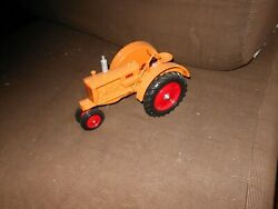 Minneapolis Moline Yellow Jt Toy Tractor White, Oliver1/16  Twin City