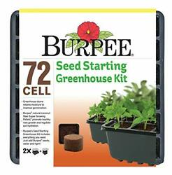 Burpee Seed Starter Tray With Coir Pellets One Size 72 Cells