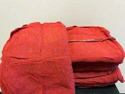 2500 Pieces New Red Industrial Shop Rags Cleaning Towels