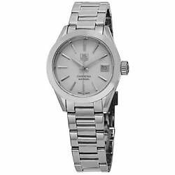 Tag Heuer Womenand039s And039carreraand039 Mother Of Cultured Pearl Dial Stainless