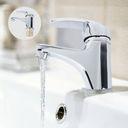Bathroom Faucet Mono Basin Mixer Taps Single Lever Sink Brushed Tap