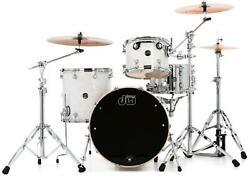 Dw Performance Series 3-piece Shell Pack With 18 X 22 Bass Drum - White Marine