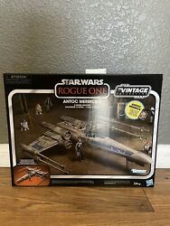 Star Wars The Vintage Collection Antoc Merrickand039s X-wing Fighter - Target In Hand